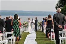 Wedding Ceremony at Miles Wine Cellars
