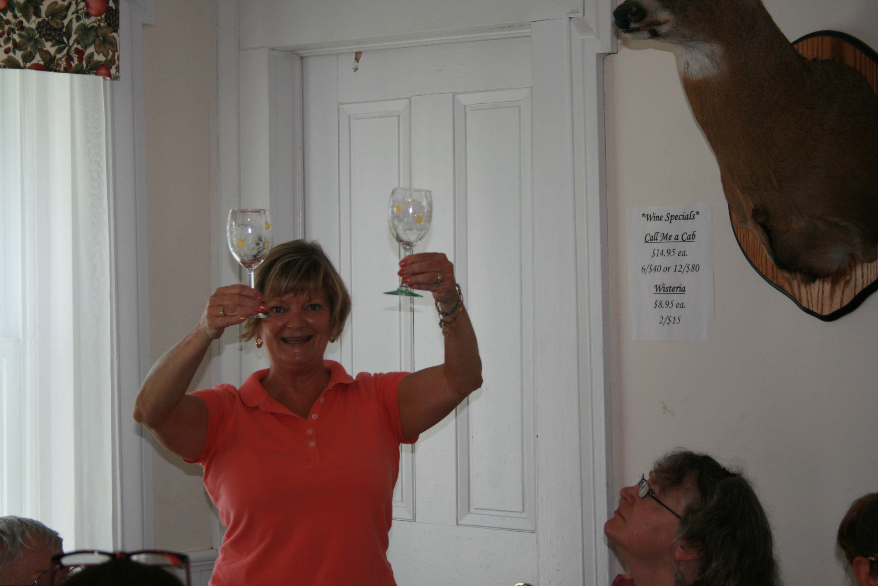 Wine Glass Painting Classes for 2015 now booking!