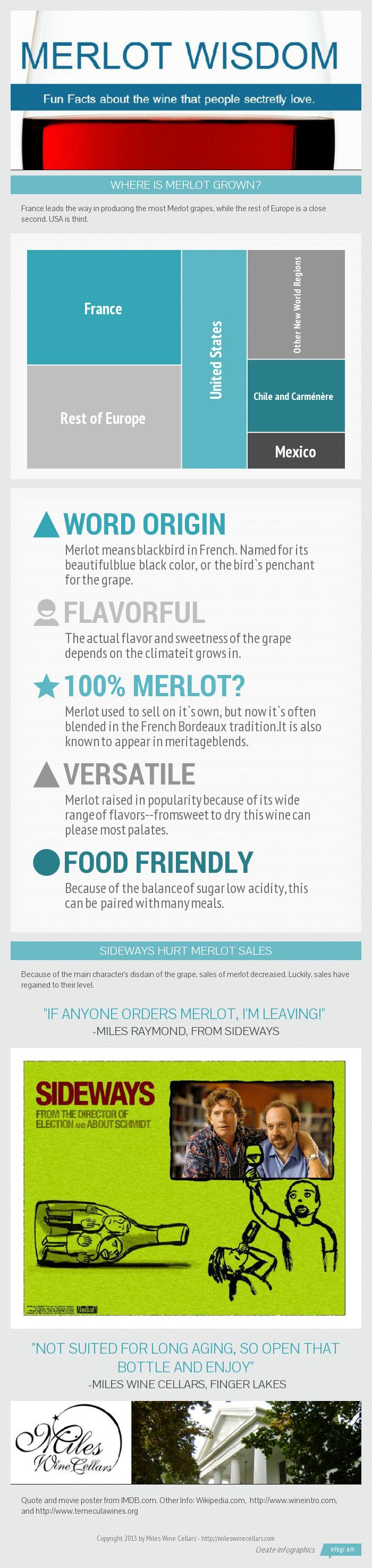 Merlot Wisdom - Infographic