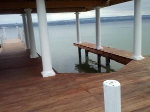 Dock inside view
