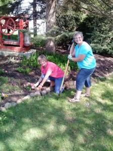 Garden crew 2014