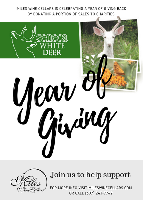 Miles Wine Cellars Spotlights Seneca White Deer in Year of Giving