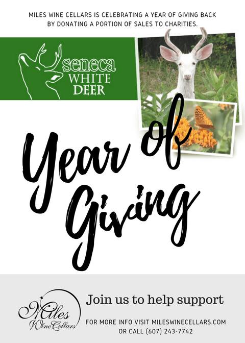Year of Giving Seneca White Deer